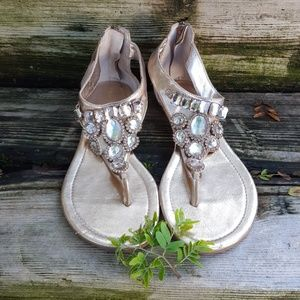 Jeweled Sandal